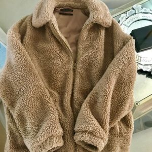 Urban Outfitters Brand Teddy 🧸 Coat Size Small